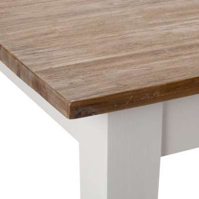 Stół Milton white&natural 200x100x78cm