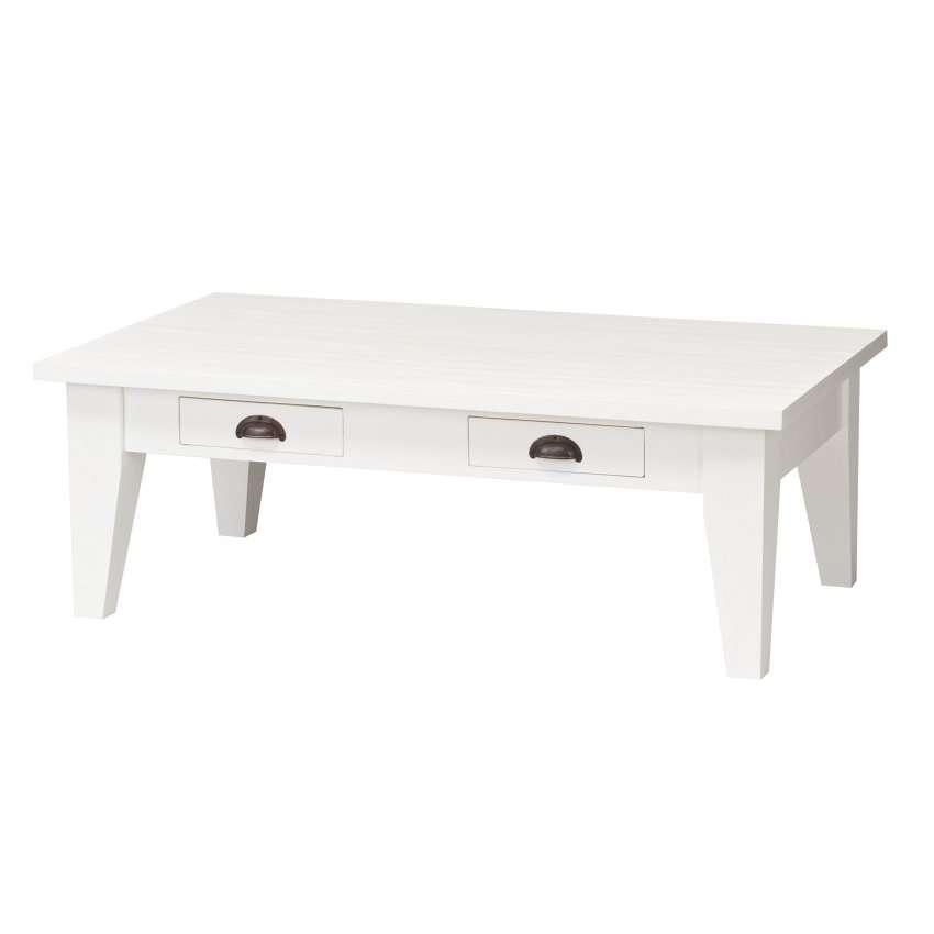 Couchtisch Milton white 130x73x45cm, 130x73x45cm
