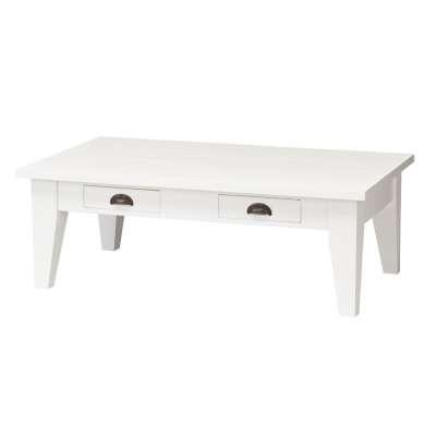 SUOLAS MILTON, WHITE, 130X75X45CM Angliško stiliaus baldai - Dekoria.lt