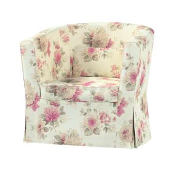 Pokrowiec na fotel Ektorp Tullsta w kolekcji Mirella, tkanina: 141-07