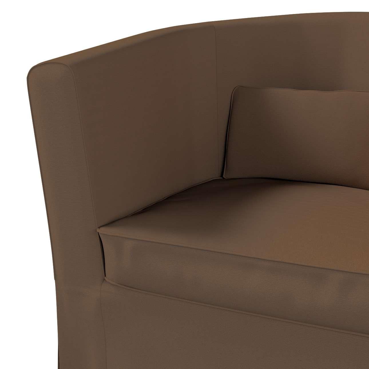 Pokrowiec na fotel Ektorp Tullsta w kolekcji Cotton Panama, tkanina: 702-02