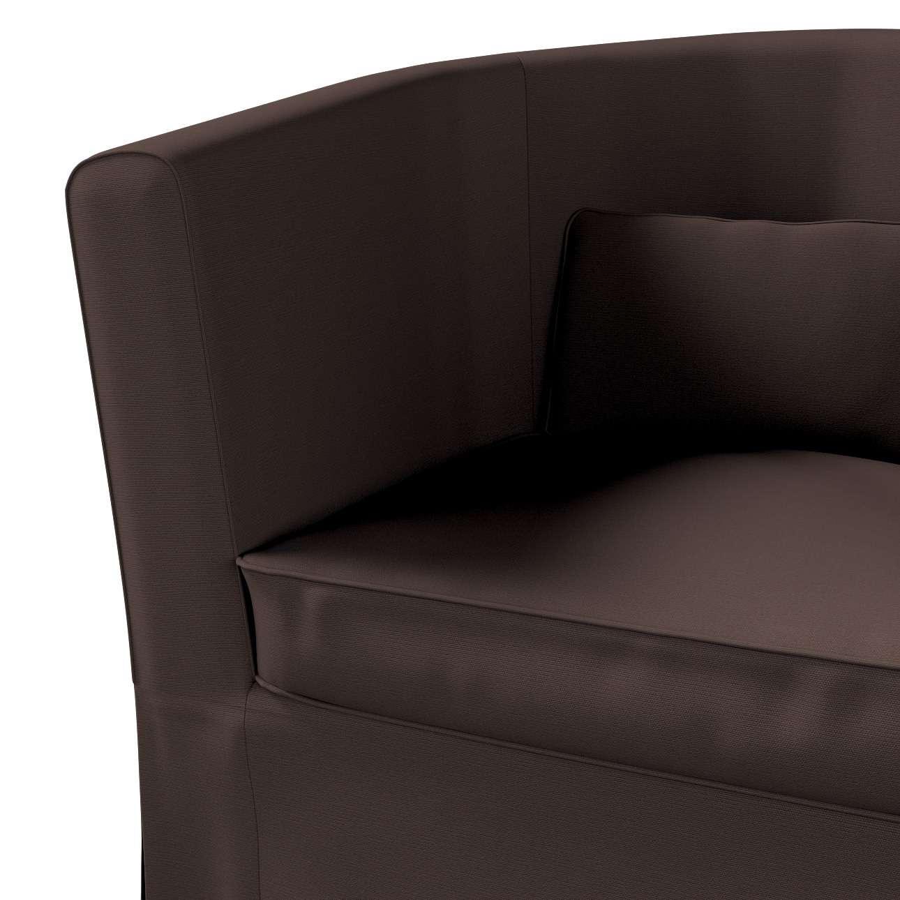 Pokrowiec na fotel Ektorp Tullsta w kolekcji Cotton Panama, tkanina: 702-03