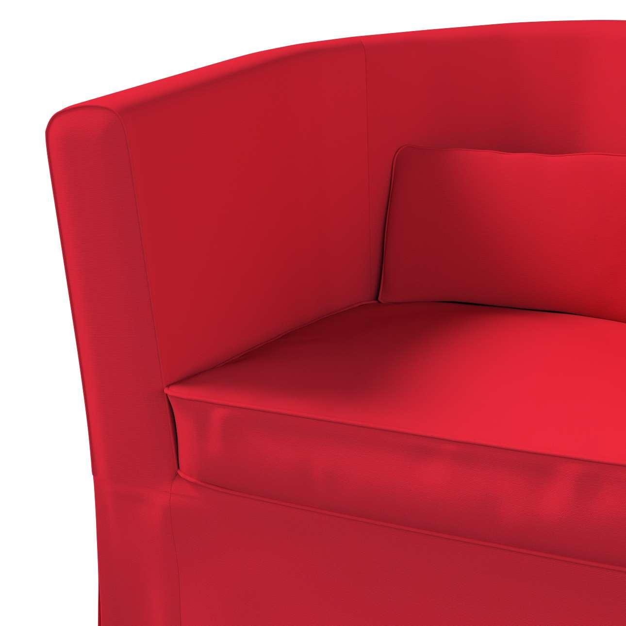 Pokrowiec na fotel Ektorp Tullsta w kolekcji Cotton Panama, tkanina: 702-04