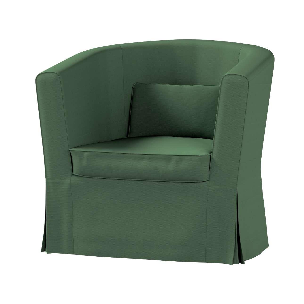 Pokrowiec na fotel Ektorp Tullsta w kolekcji Cotton Panama, tkanina: 702-06