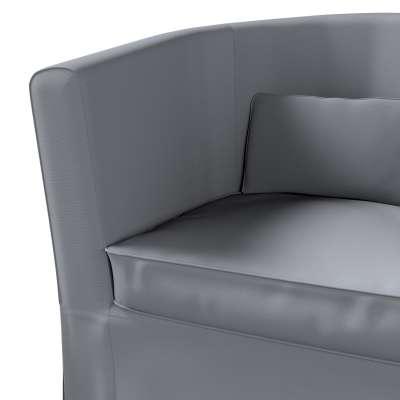 Pokrowiec na fotel Ektorp Tullsta w kolekcji Cotton Panama, tkanina: 702-07