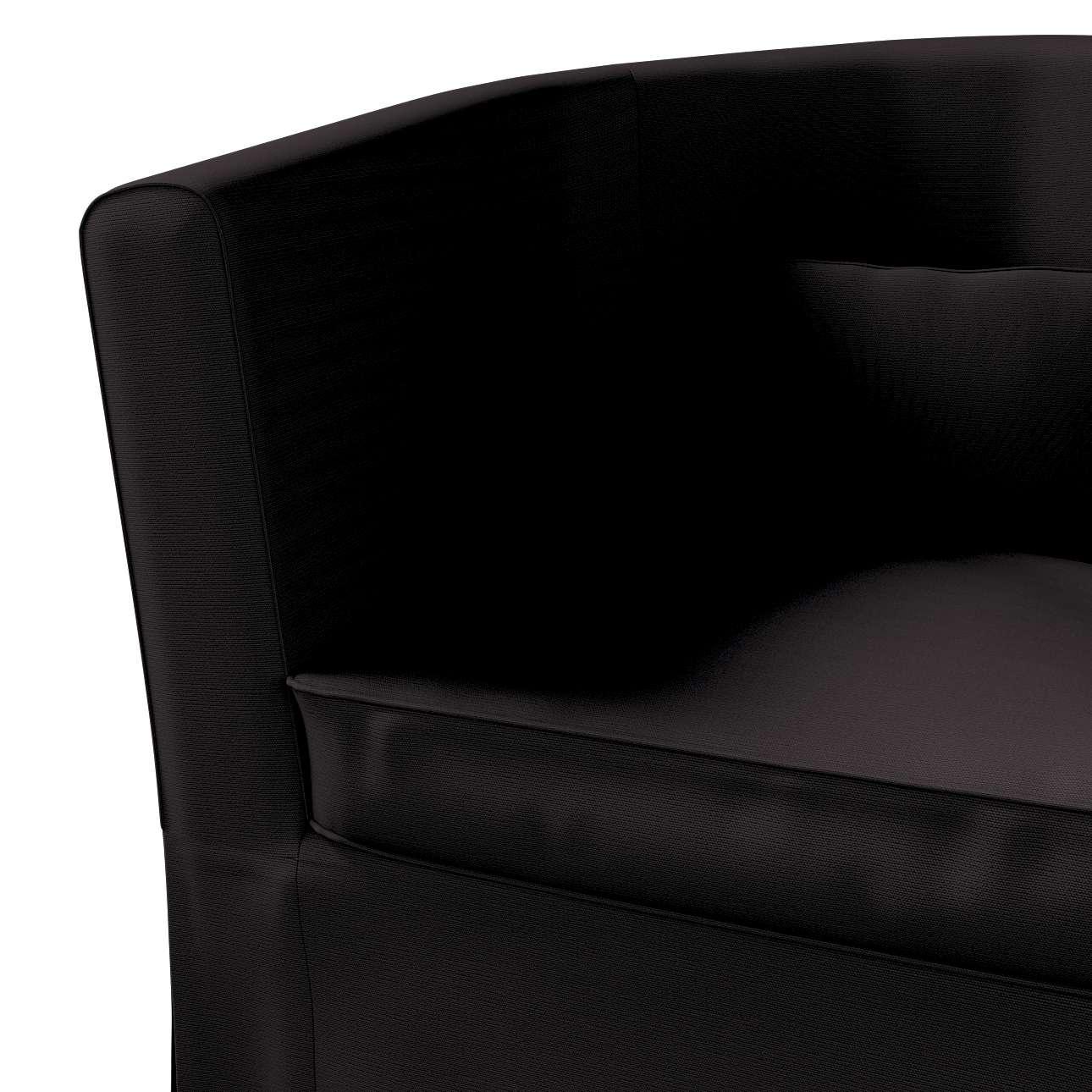 Pokrowiec na fotel Ektorp Tullsta w kolekcji Cotton Panama, tkanina: 702-08