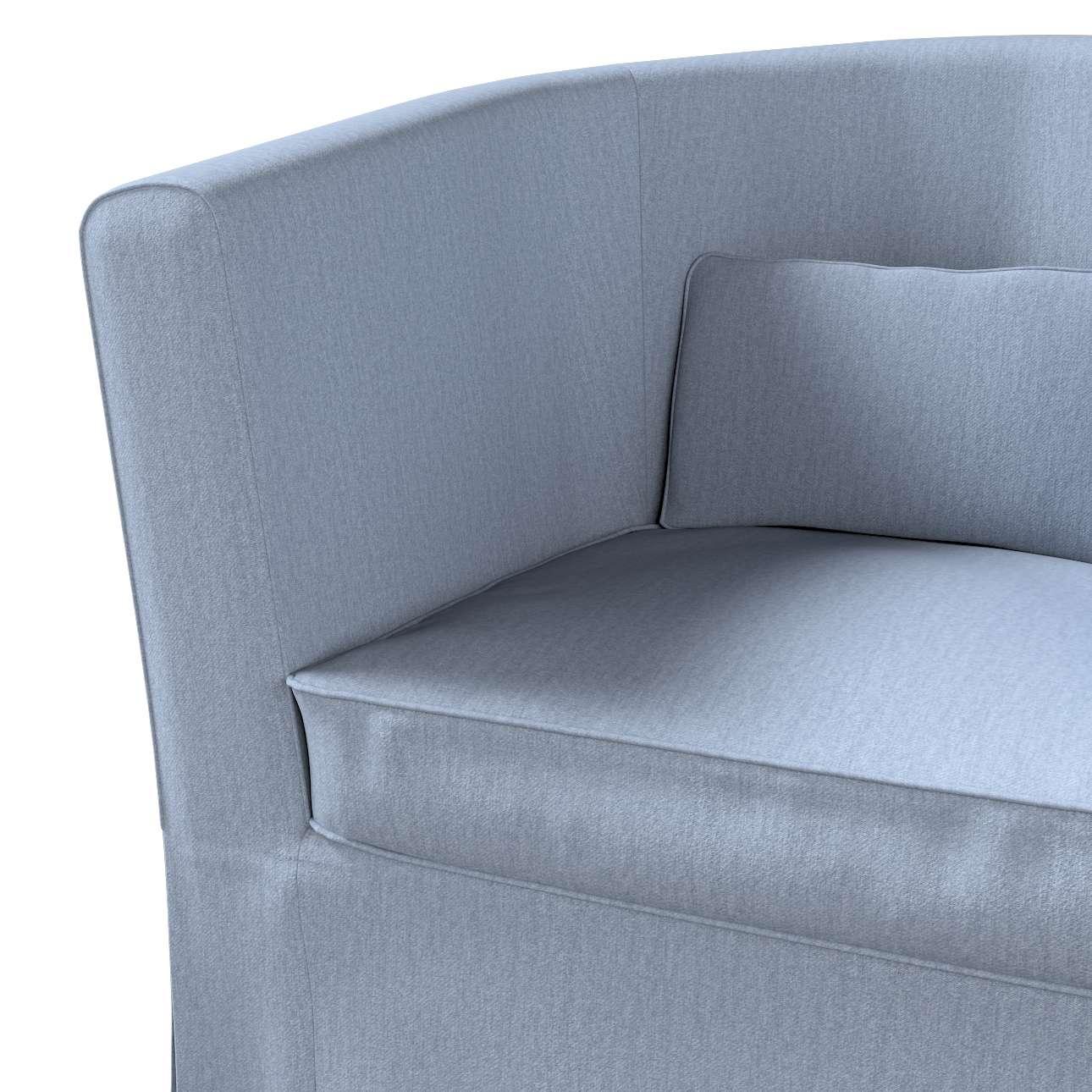 Pokrowiec na fotel Ektorp Tullsta w kolekcji Chenille, tkanina: 702-13