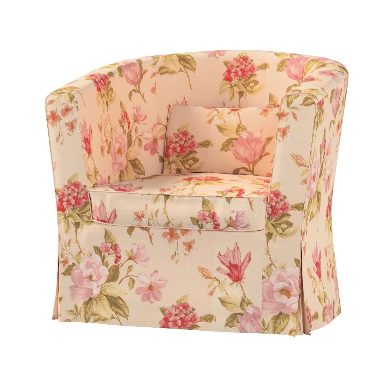 Pokrowiec na fotel Ektorp Tullsta w kolekcji Londres, tkanina: 123-05