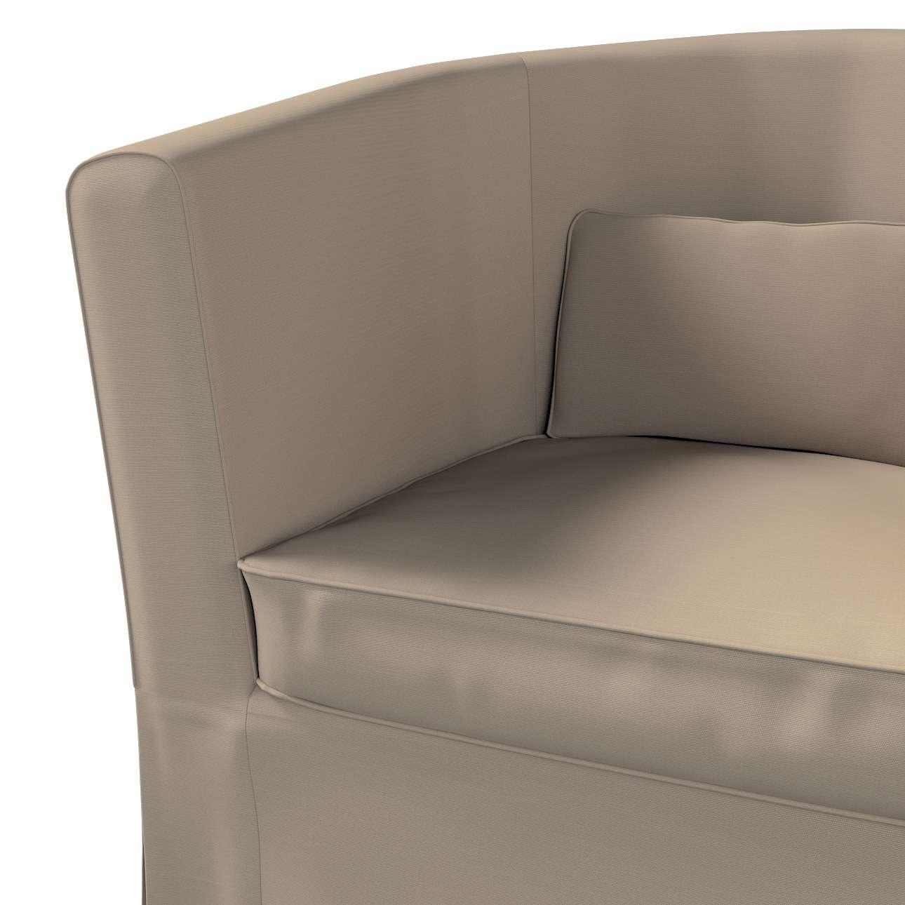 Pokrowiec na fotel Ektorp Tullsta w kolekcji Cotton Panama, tkanina: 702-28