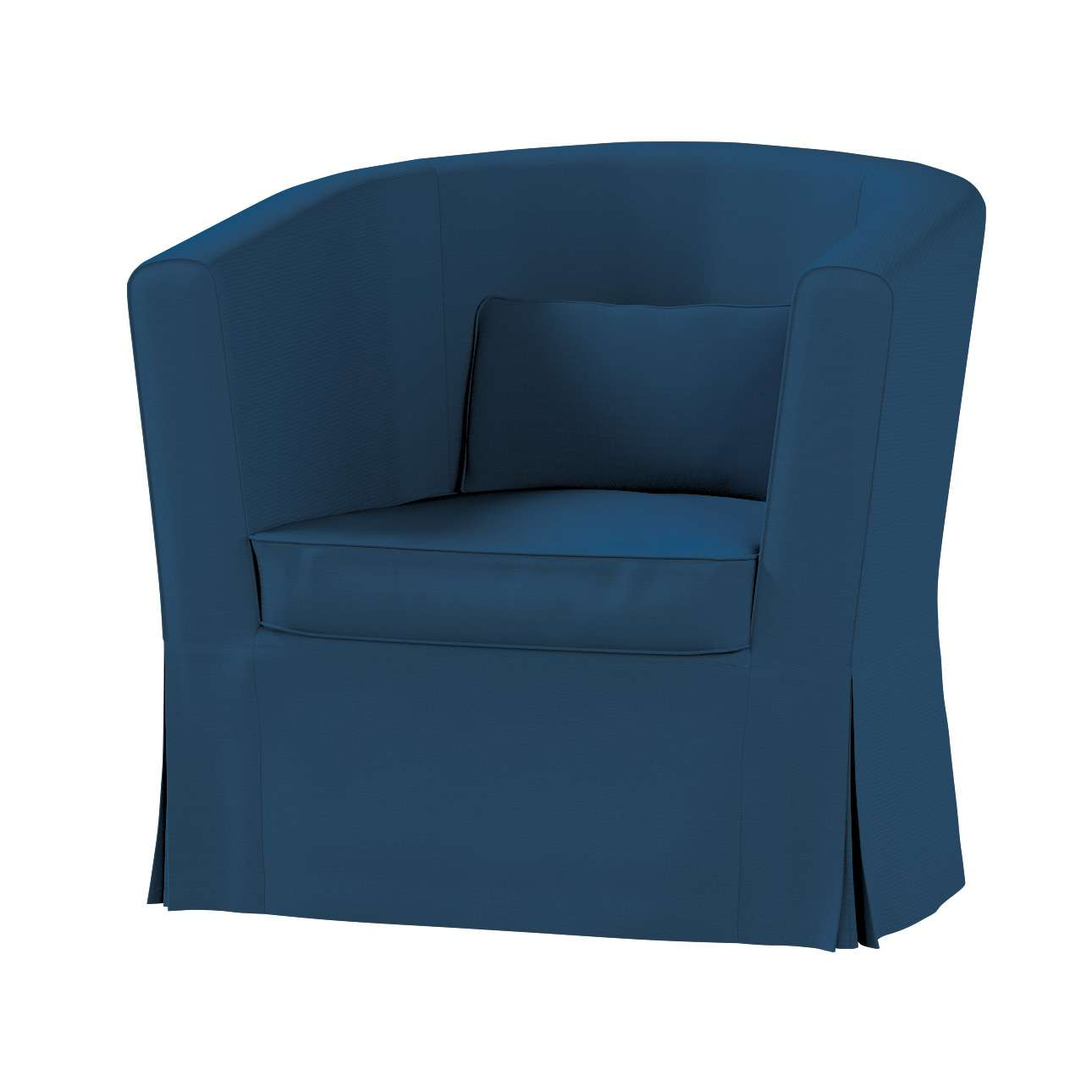 Pokrowiec na fotel Ektorp Tullsta fotel Ektorp Tullsta w kolekcji Cotton Panama, tkanina: 702-30