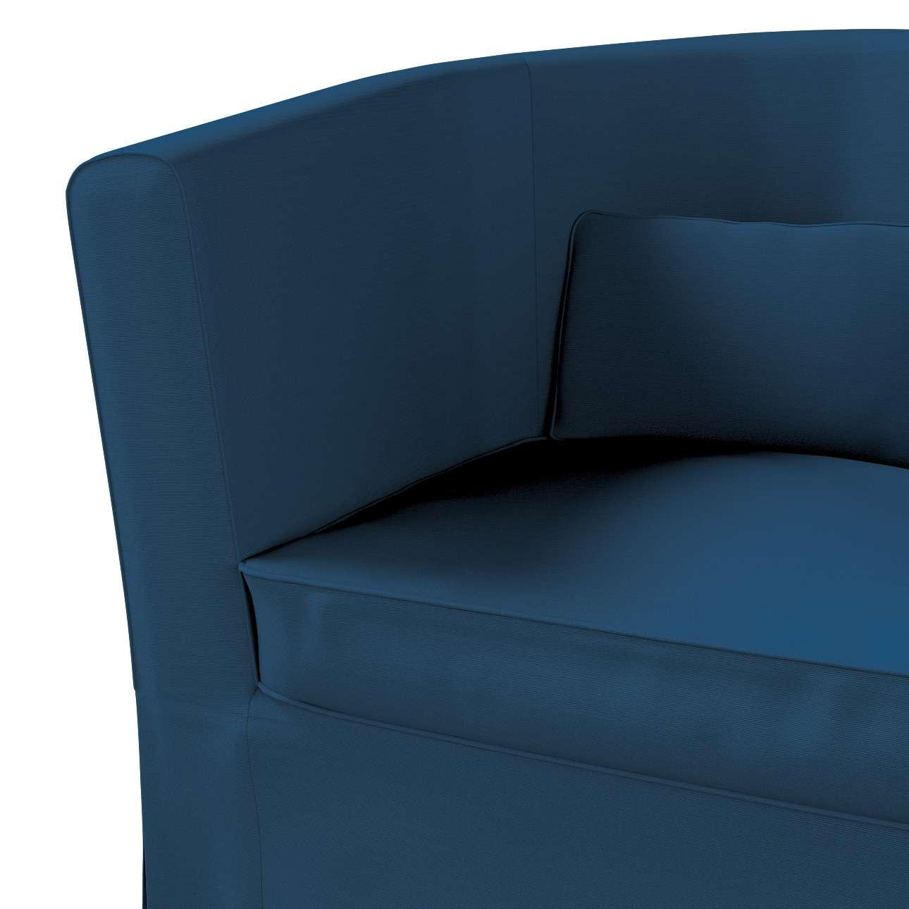 Pokrowiec na fotel Ektorp Tullsta w kolekcji Cotton Panama, tkanina: 702-30