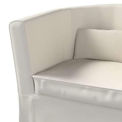 Pokrowiec na fotel Ektorp Tullsta w kolekcji Cotton Panama, tkanina: 702-31