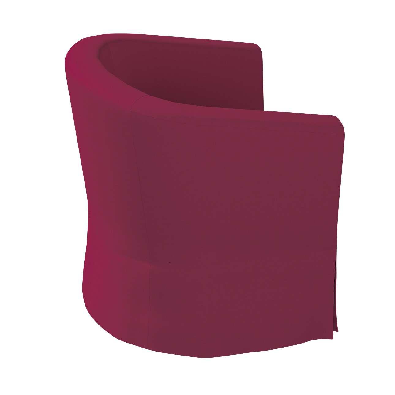 Pokrowiec na fotel Ektorp Tullsta w kolekcji Cotton Panama, tkanina: 702-32