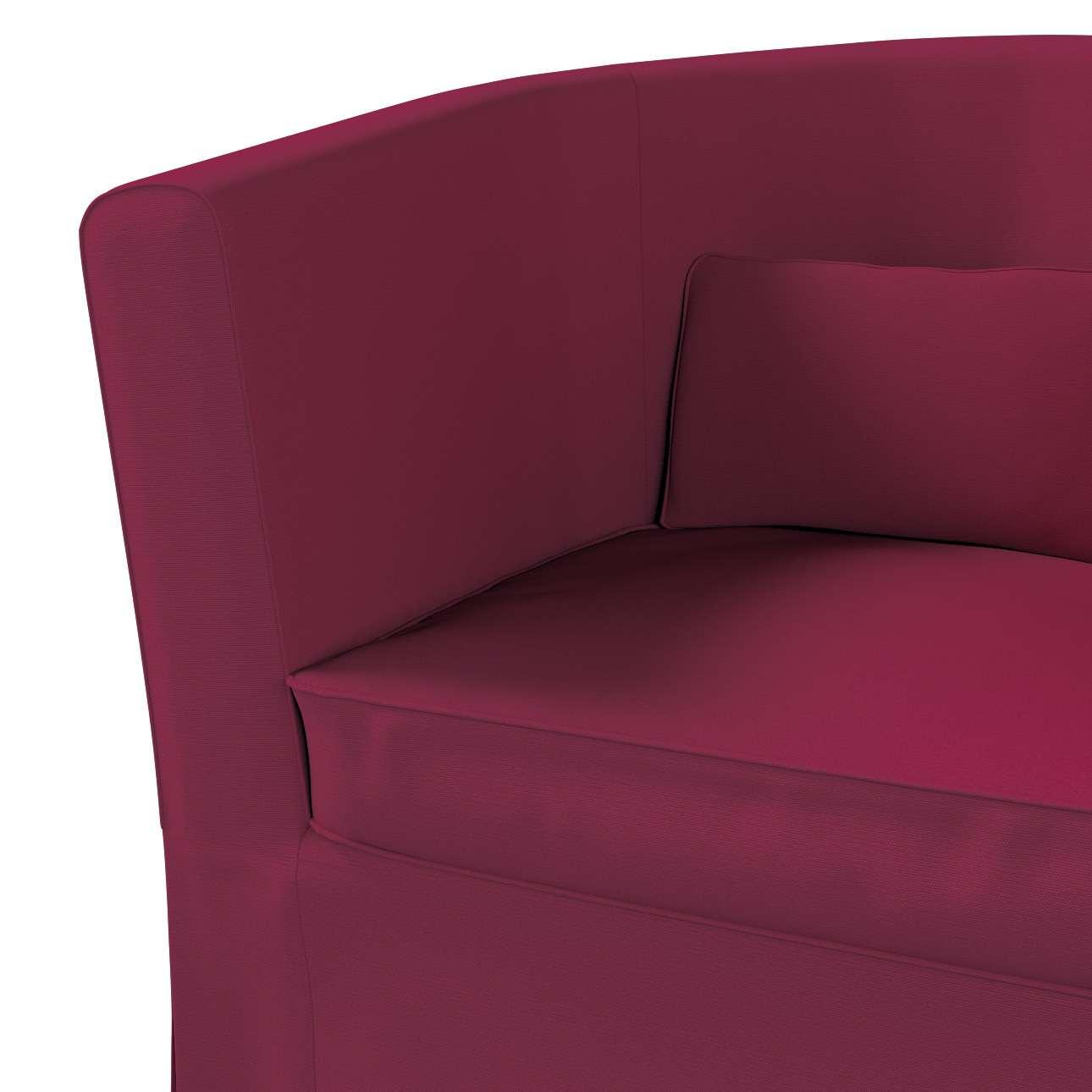 Bezug für Ektorp Tullsta Sessel von der Kollektion Cotton Panama, Stoff: 702-32
