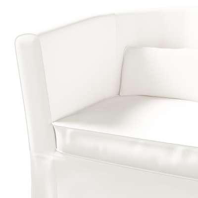 Pokrowiec na fotel Ektorp Tullsta w kolekcji Cotton Panama, tkanina: 702-34