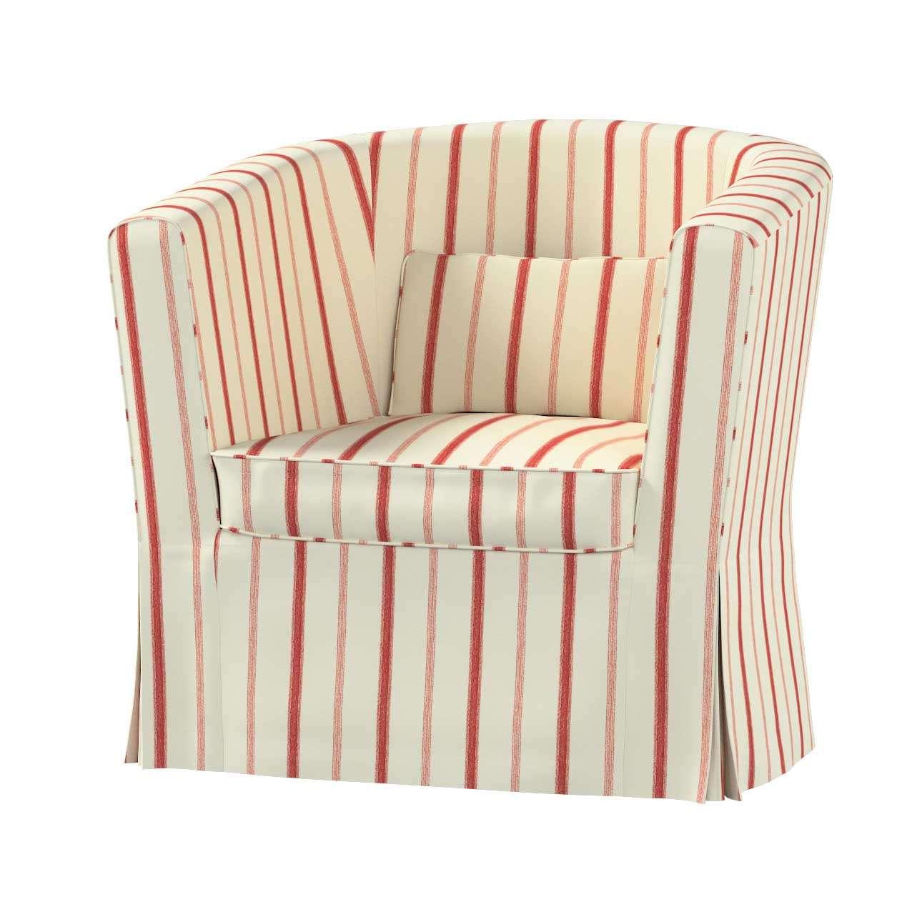 Pokrowiec na fotel Ektorp Tullsta w kolekcji Avinon, tkanina: 129-15