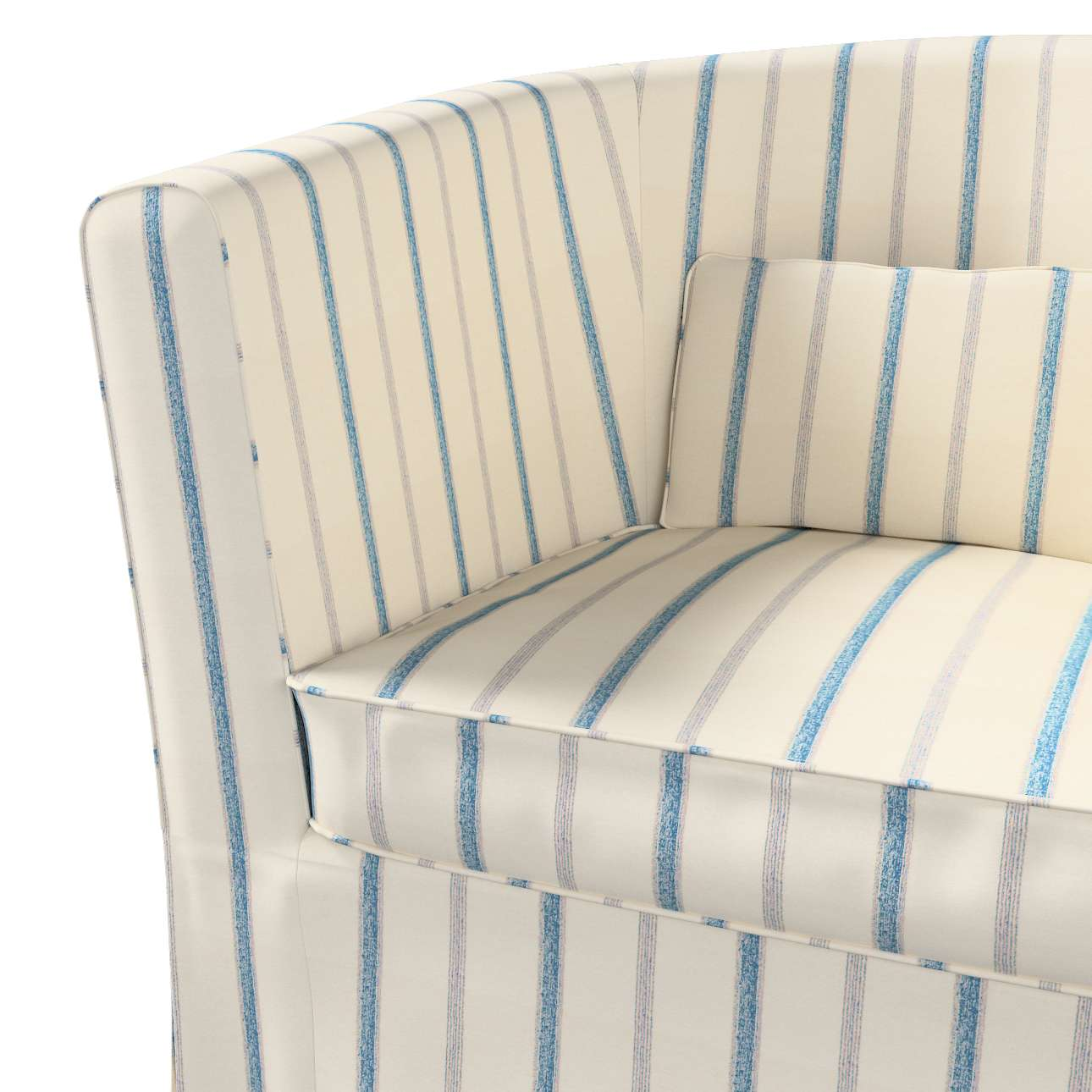 Pokrowiec na fotel Ektorp Tullsta w kolekcji Avinon, tkanina: 129-66