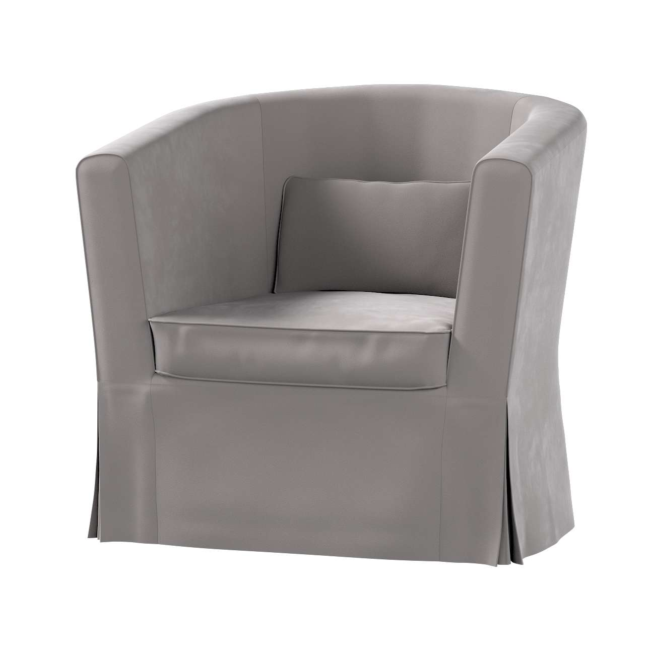 Pokrowiec na fotel Ektorp Tullsta w kolekcji Velvet, tkanina: 704-11