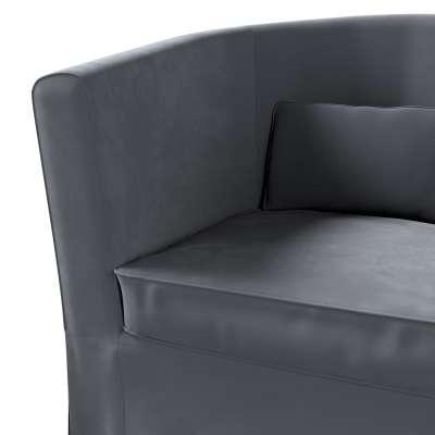 Pokrowiec na fotel Ektorp Tullsta w kolekcji Velvet, tkanina: 704-12