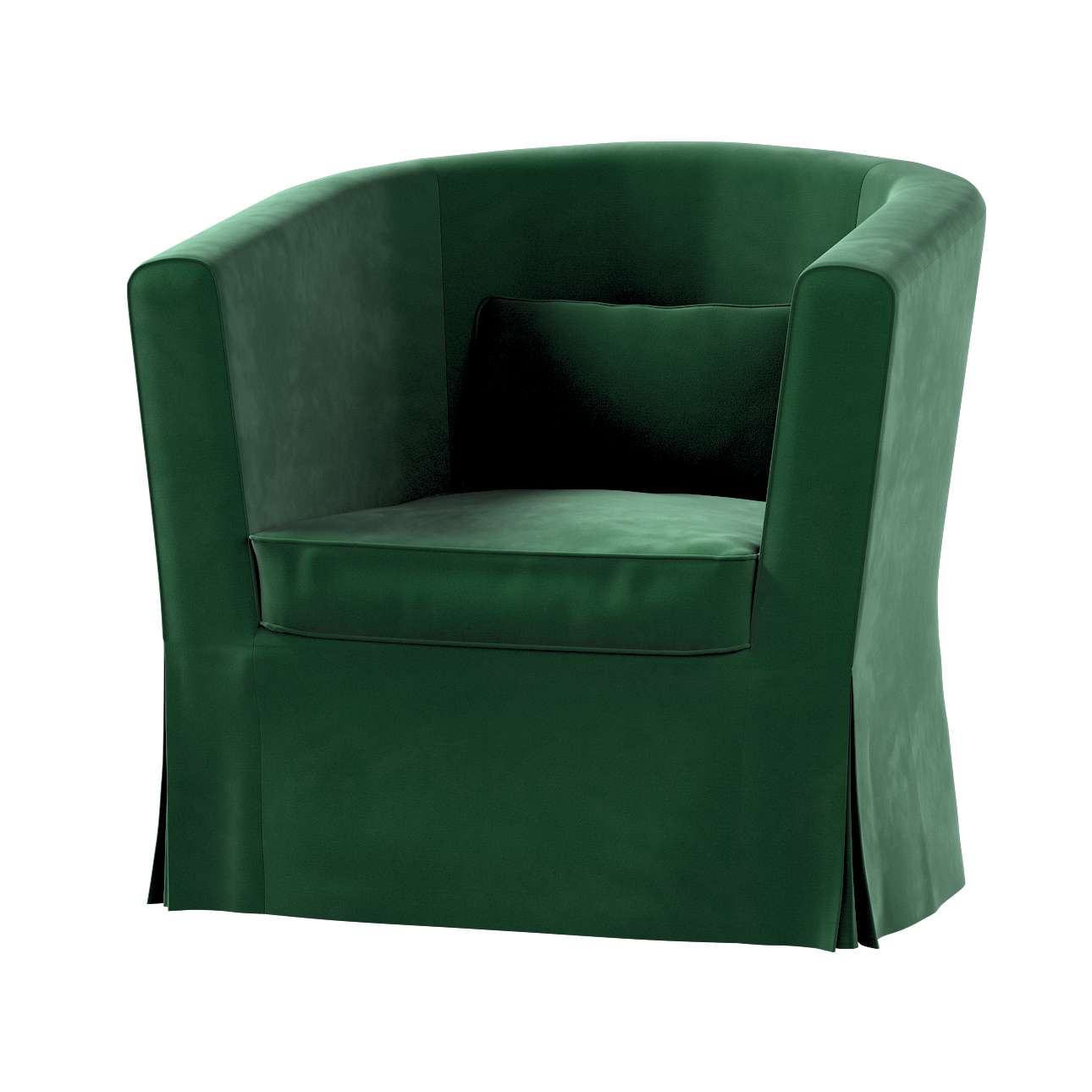 Pokrowiec na fotel Ektorp Tullsta w kolekcji Velvet, tkanina: 704-13