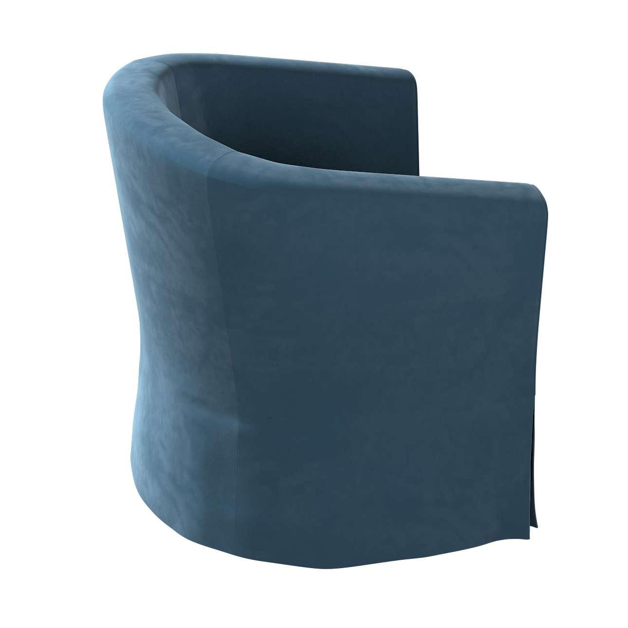 Pokrowiec na fotel Ektorp Tullsta w kolekcji Velvet, tkanina: 704-16