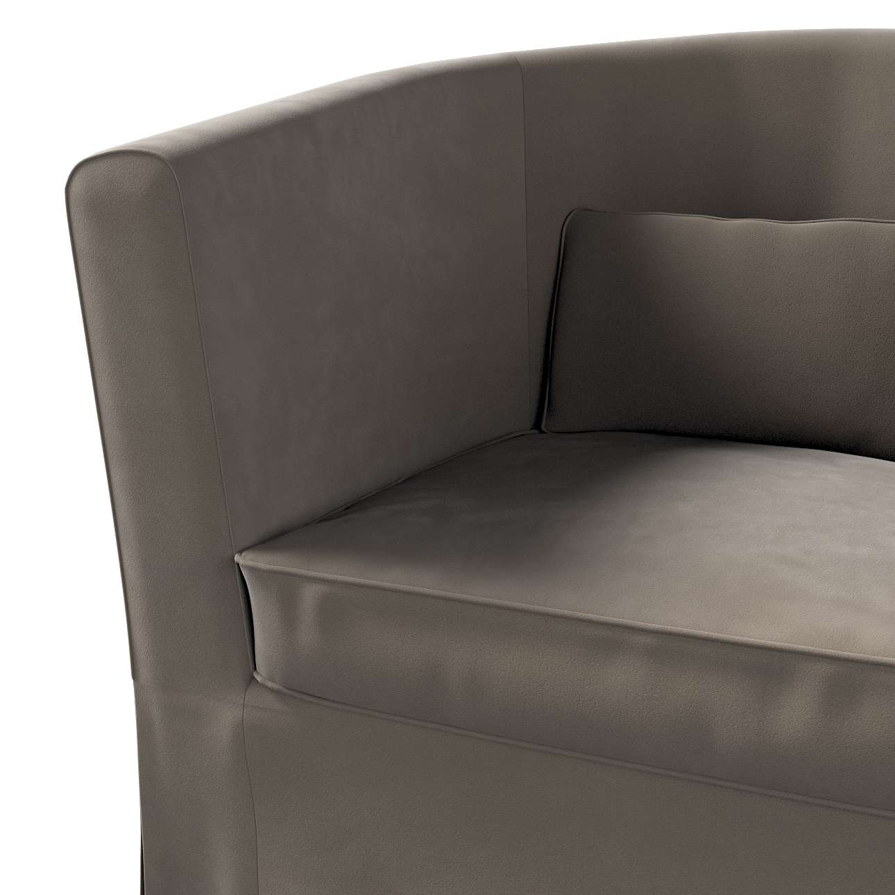 Pokrowiec na fotel Ektorp Tullsta w kolekcji Velvet, tkanina: 704-19