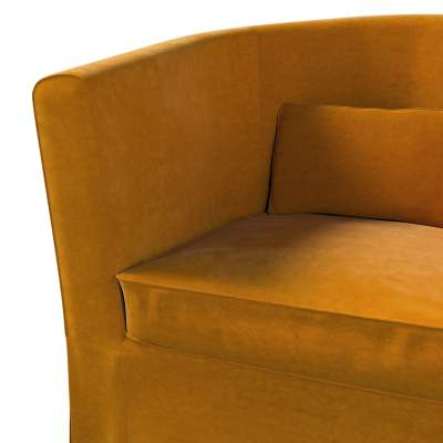Pokrowiec na fotel Ektorp Tullsta w kolekcji Velvet, tkanina: 704-23