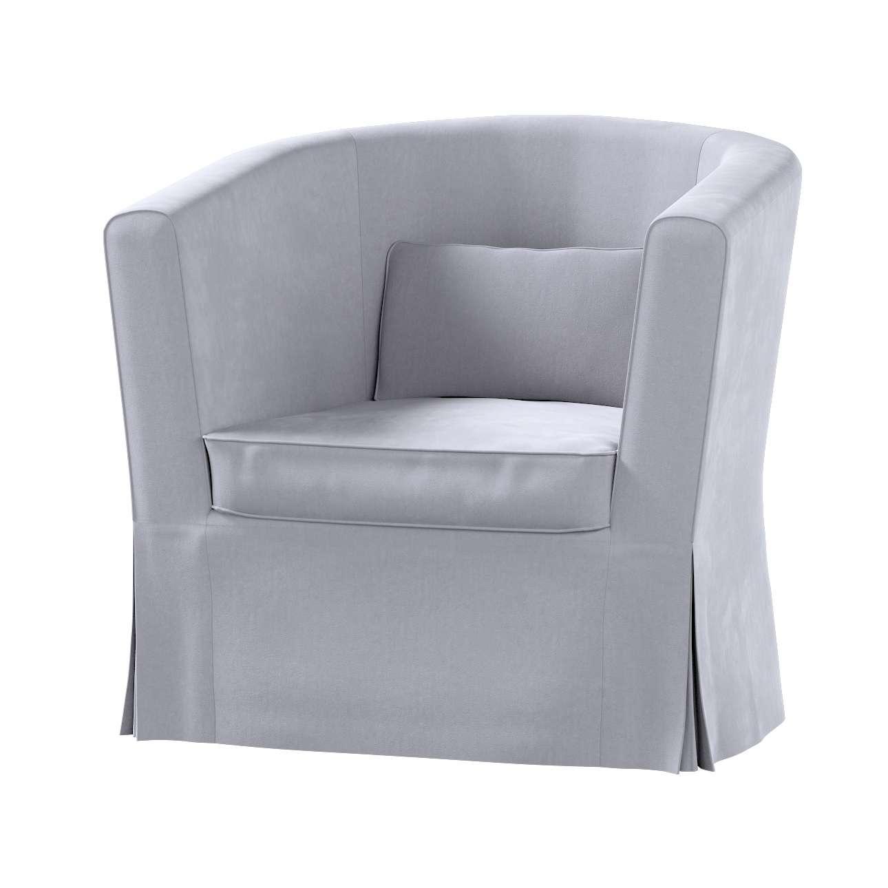 Pokrowiec na fotel Ektorp Tullsta w kolekcji Velvet, tkanina: 704-24