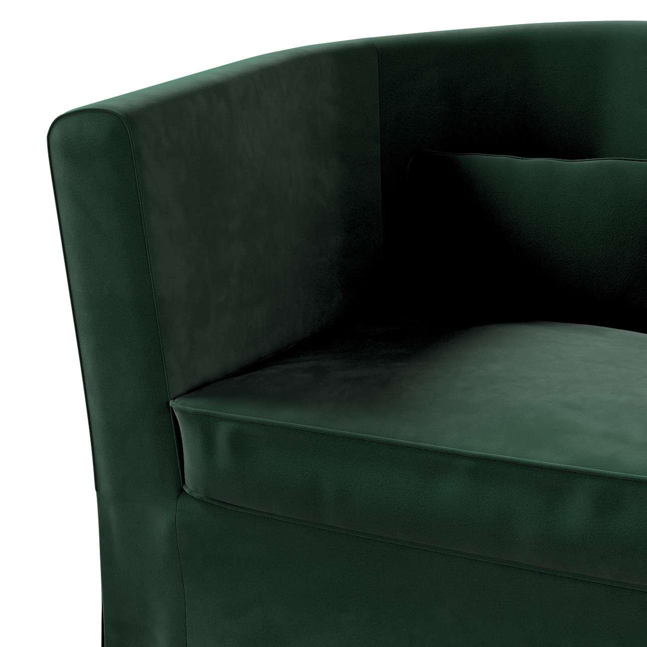 Pokrowiec na fotel Ektorp Tullsta w kolekcji Velvet, tkanina: 704-25
