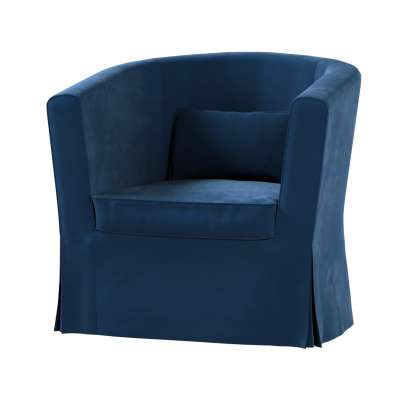 Bezug für Ektorp Tullsta Sessel 704-29 dunkelblau Kollektion Velvet