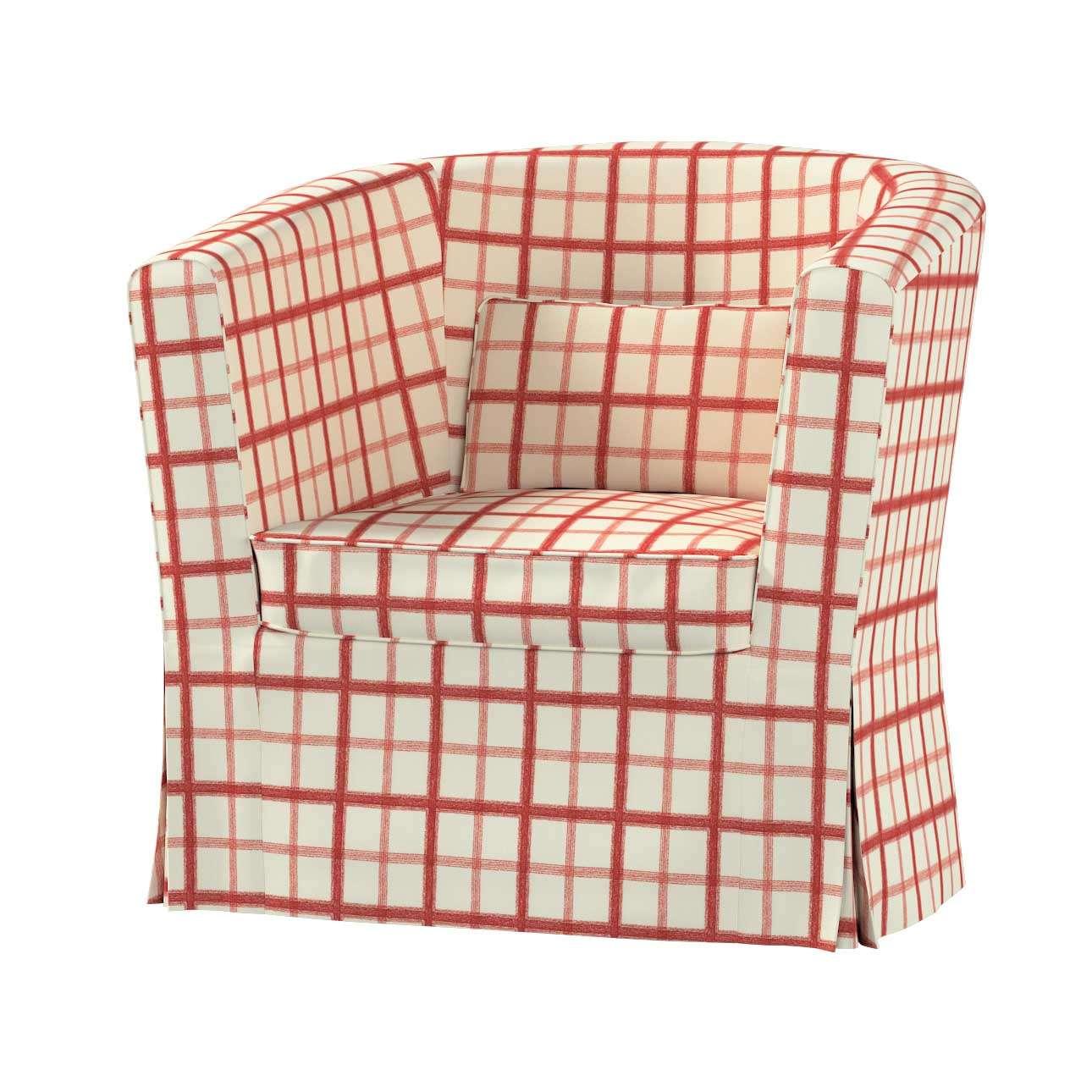Pokrowiec na fotel Ektorp Tullsta fotel Ektorp Tullsta w kolekcji Avinon, tkanina: 131-15