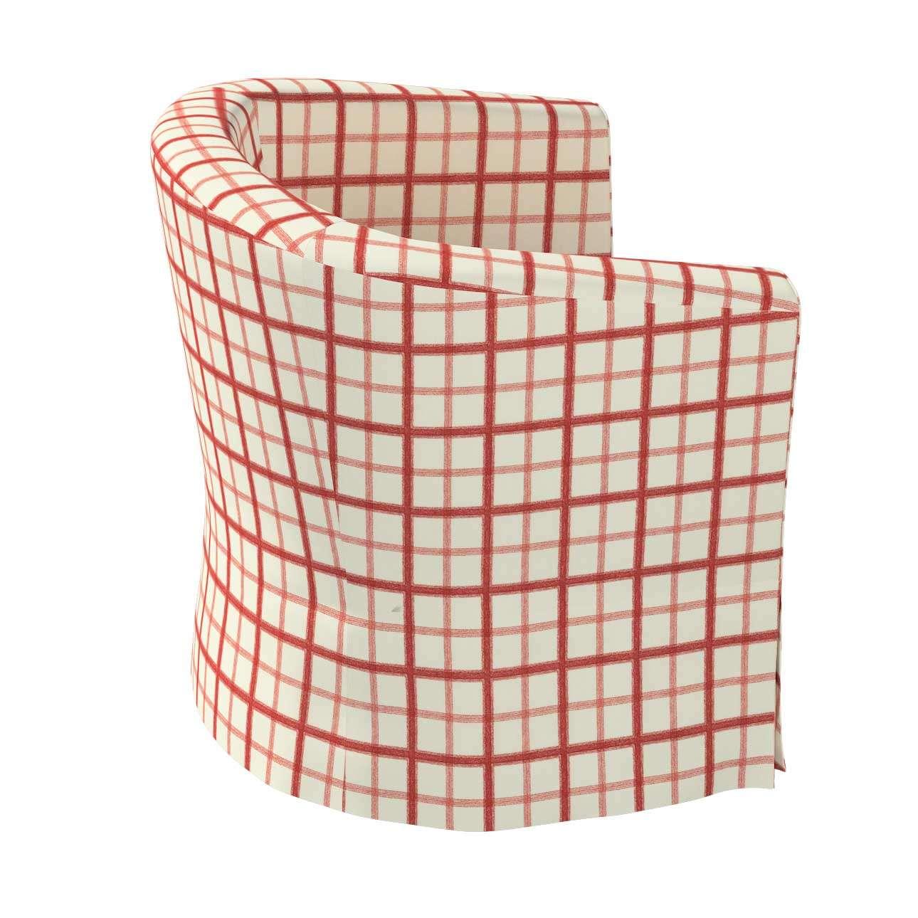 Pokrowiec na fotel Ektorp Tullsta w kolekcji Avinon, tkanina: 131-15