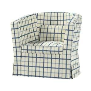 Pokrowiec na fotel Ektorp Tullsta fotel Ektorp Tullsta w kolekcji Avinon, tkanina: 131-66