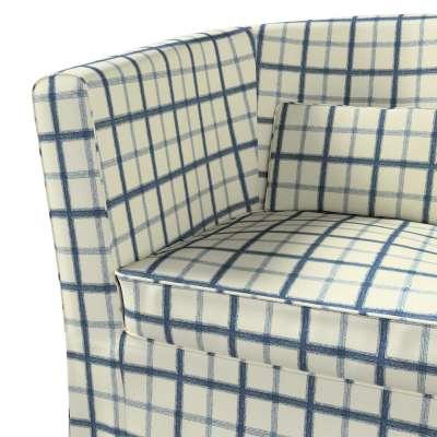 Pokrowiec na fotel Ektorp Tullsta w kolekcji Avinon, tkanina: 131-66