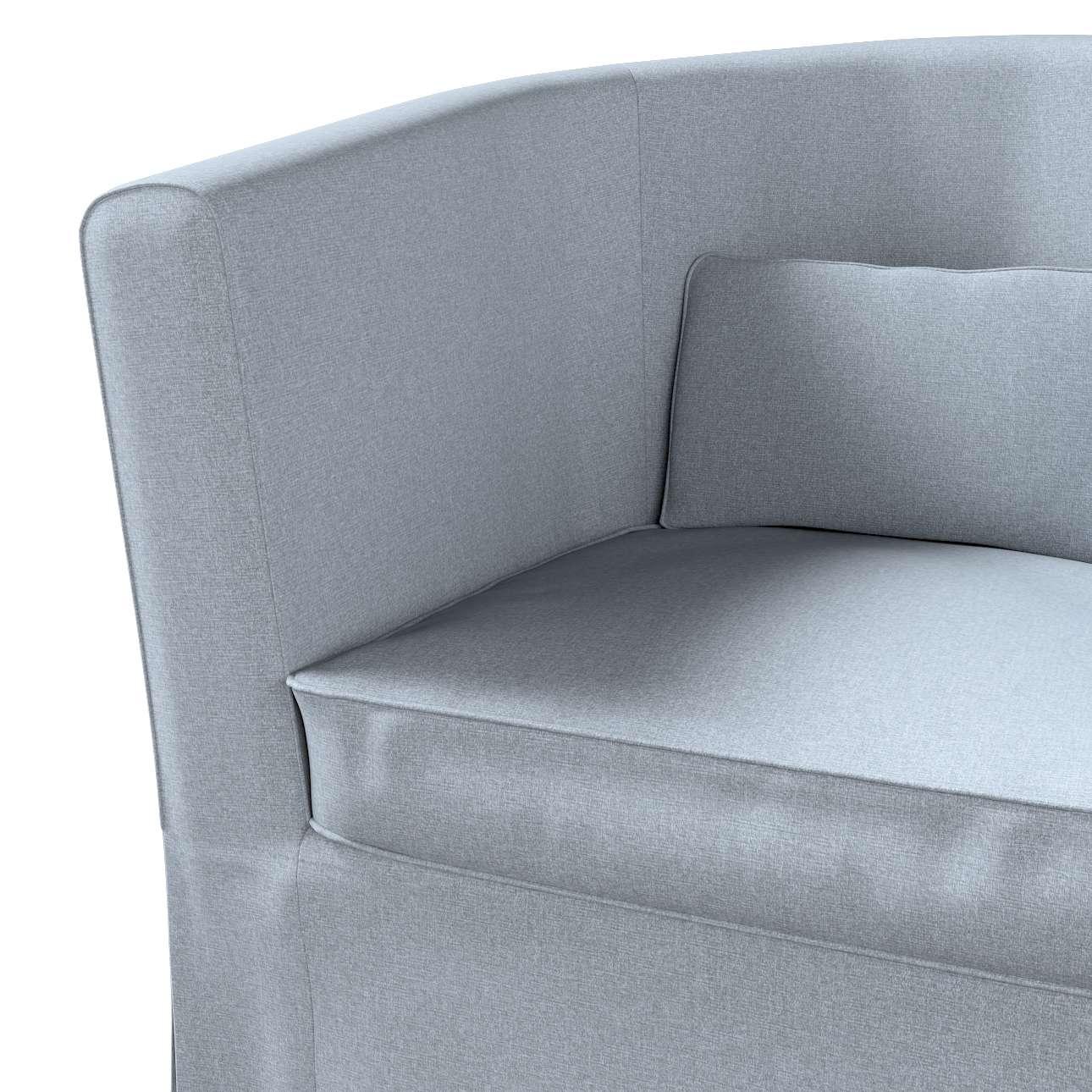 Pokrowiec na fotel Ektorp Tullsta w kolekcji Amsterdam, tkanina: 704-46