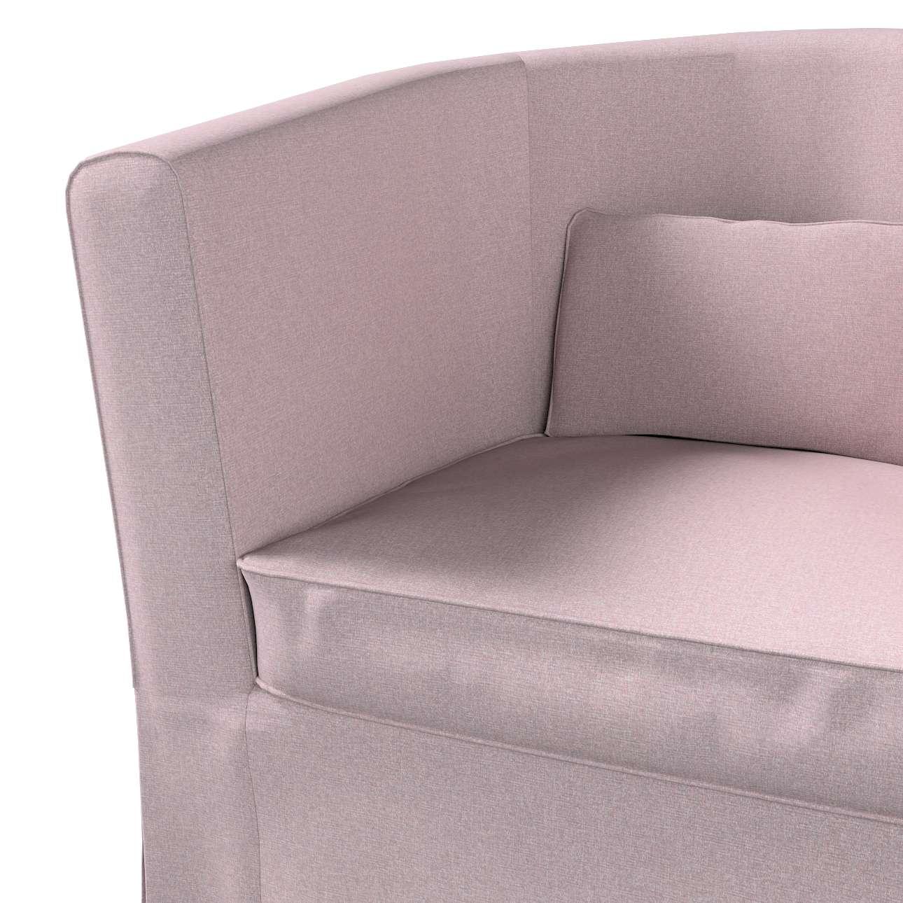 Pokrowiec na fotel Ektorp Tullsta w kolekcji Amsterdam, tkanina: 704-51