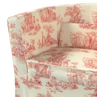 Pokrowiec na fotel Ektorp Tullsta w kolekcji Avinon, tkanina: 132-15