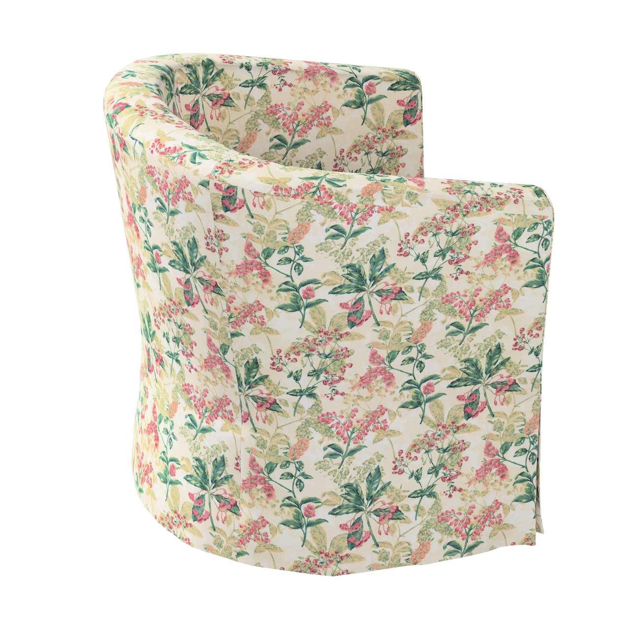 Pokrowiec na fotel Ektorp Tullsta w kolekcji Londres, tkanina: 143-41