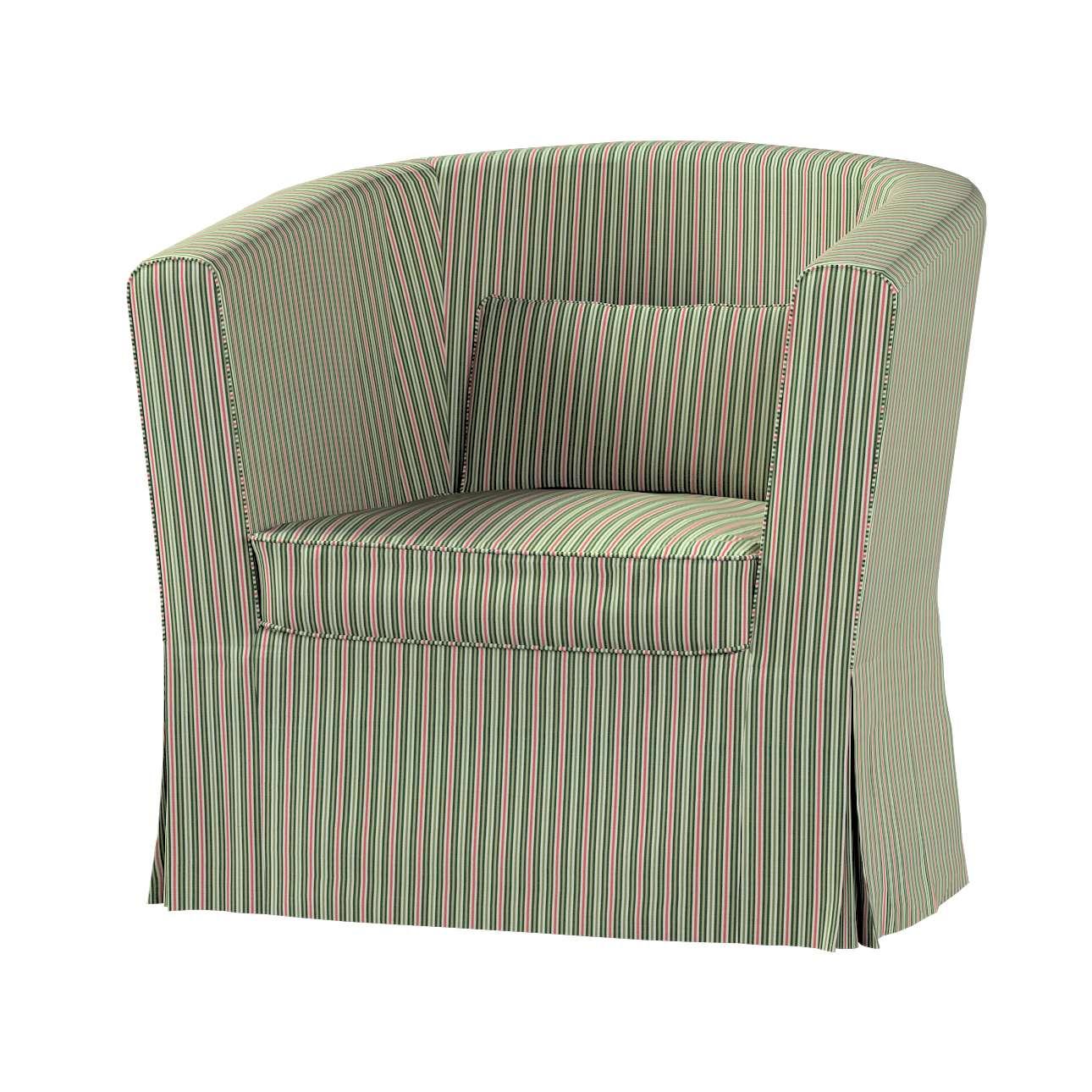 Pokrowiec na fotel Ektorp Tullsta w kolekcji Londres, tkanina: 143-42
