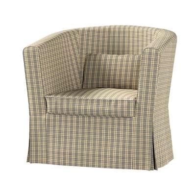 Pokrowiec na fotel Ektorp Tullsta w kolekcji Londres, tkanina: 143-39