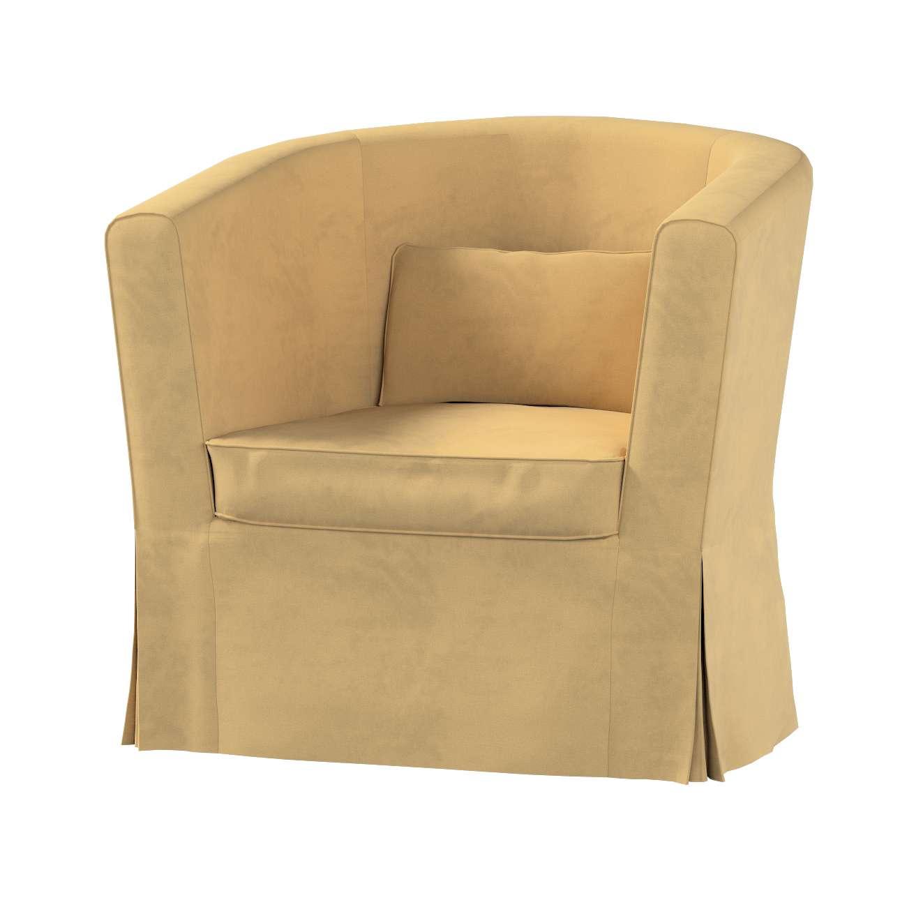 Pokrowiec na fotel Ektorp Tullsta w kolekcji Living II, tkanina: 160-93