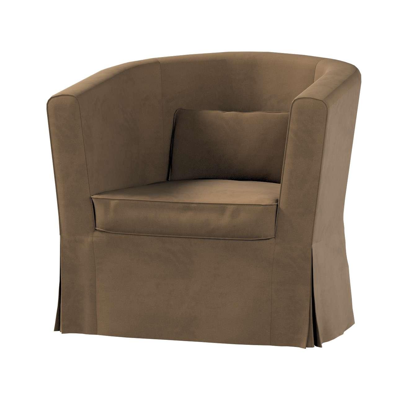 Pokrowiec na fotel Ektorp Tullsta w kolekcji Living II, tkanina: 160-94