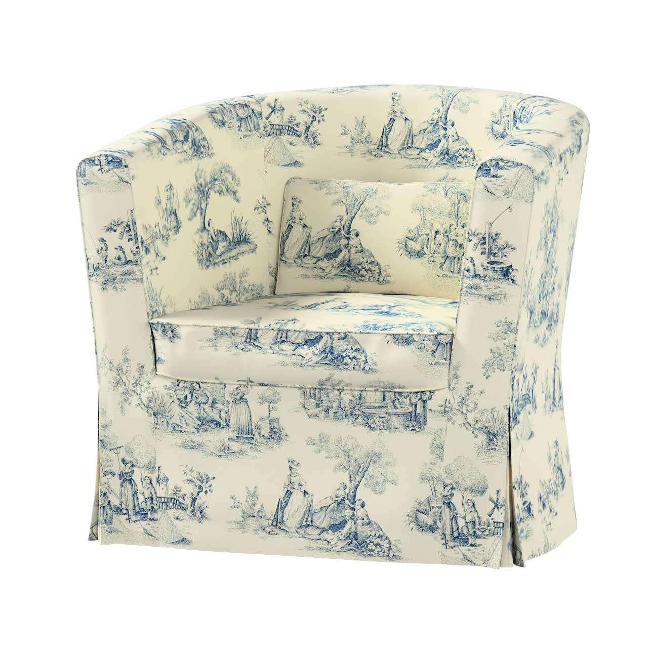 Pokrowiec na fotel Ektorp Tullsta fotel Ektorp Tullsta w kolekcji Avinon, tkanina: 132-66