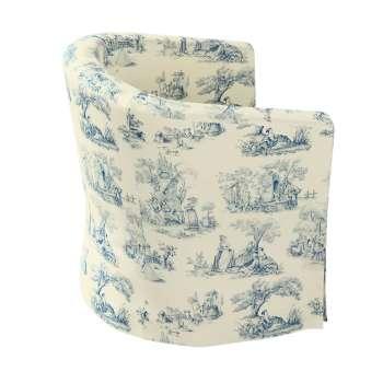 Pokrowiec na fotel Ektorp Tullsta w kolekcji Avinon, tkanina: 132-66