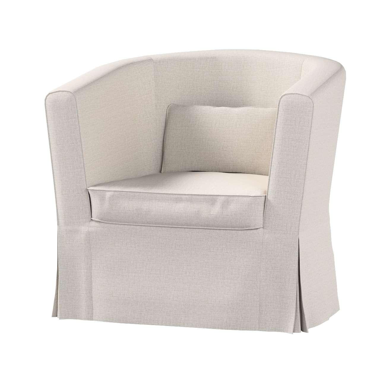 Pokrowiec na fotel Ektorp Tullsta w kolekcji Living, tkanina: 161-00