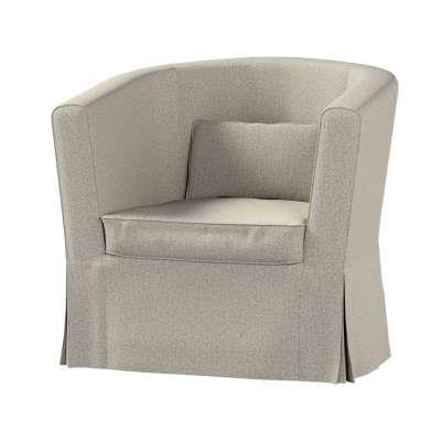 Pokrowiec na fotel Ektorp Tullsta 161-23 szaro-beżowy melanż Kolekcja Madrid