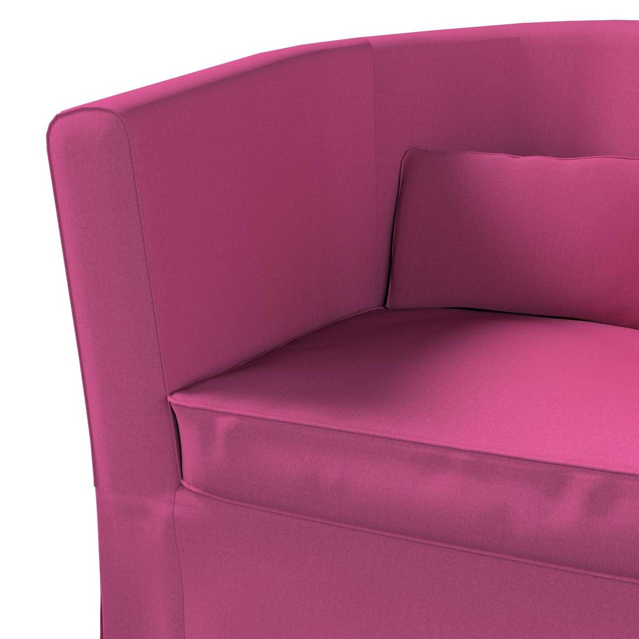 Pokrowiec na fotel Ektorp Tullsta w kolekcji Living, tkanina: 161-29