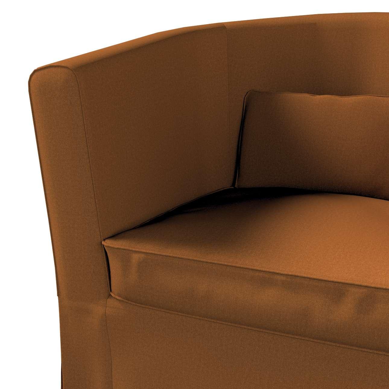 Pokrowiec na fotel Ektorp Tullsta w kolekcji Living II, tkanina: 161-28