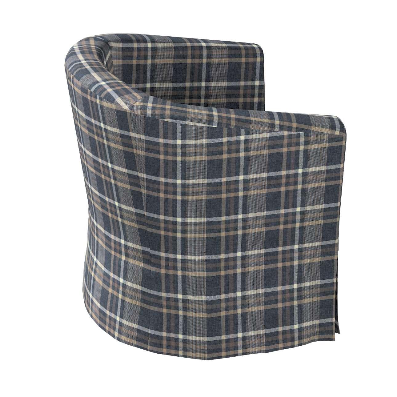 Pokrowiec na fotel Ektorp Tullsta w kolekcji Edinburgh, tkanina: 703-16