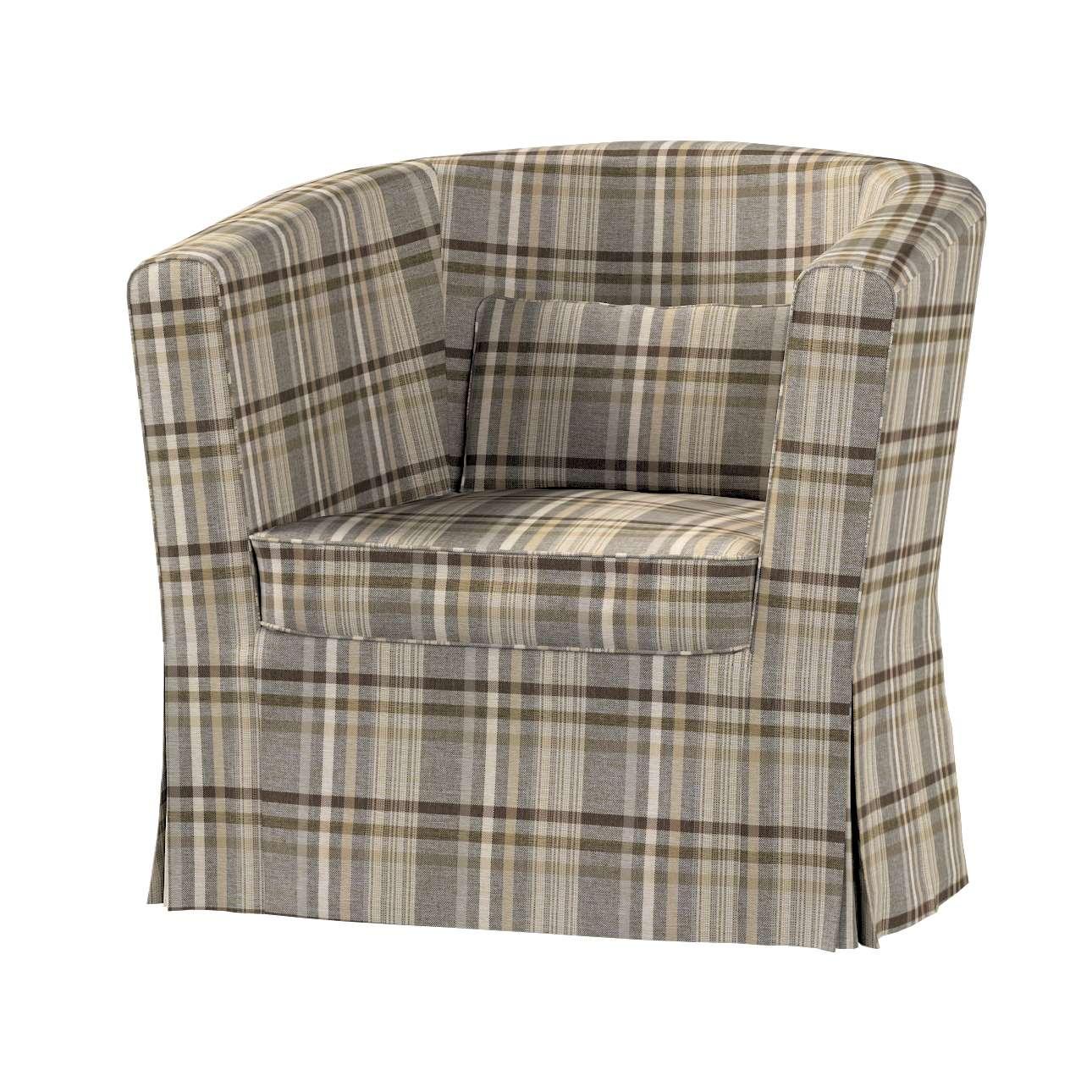 Pokrowiec na fotel Ektorp Tullsta w kolekcji Edinburgh, tkanina: 703-17